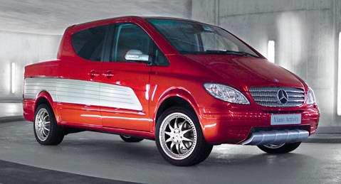 Mercedes crossover – Viano Activity