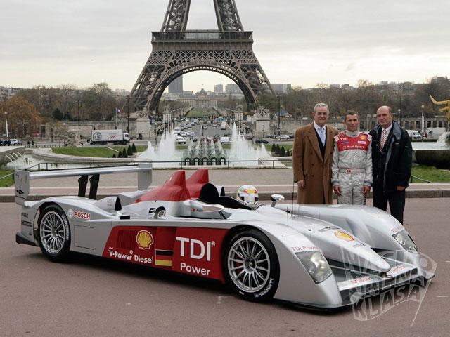 Audi R10 i Tom Kristensen