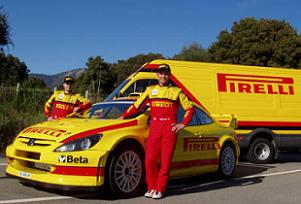 Gigi Galli u Pežou 307 WRC