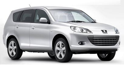 Peugeot 4007 4×4