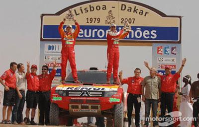 Dakar 2007 pobednici: Despres, Peterhansel i Stacey