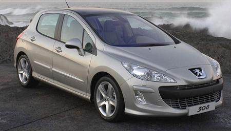 Procurele zvanične slike: Peugeot 308