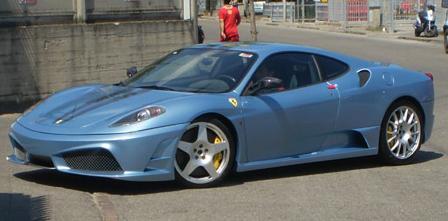 Prototip: Ferrari F430 Scuderia