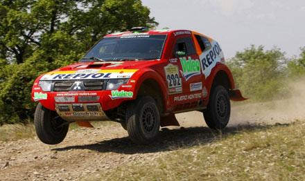 "Mitsubishi Repsol Tim na ""Rally Transiberico"""