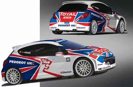IRC: Peugeot UK i Kronos zajednički nastupaju