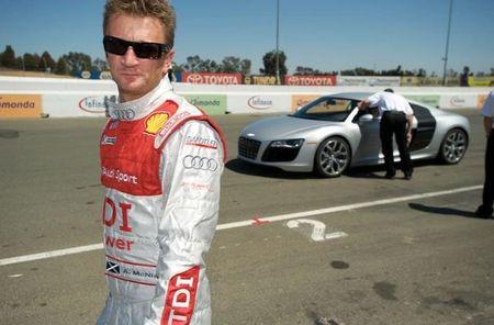 Allan McNish testira Audi S4 i R8 V10