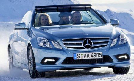 Zvanične fotografije: Mercedes E klase kabriolet