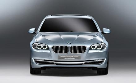 Ženeva: BMW ActiveHybrid serije 5 koncept