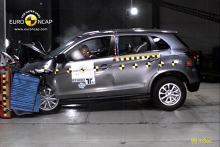 EuroNCAP: Pet zvezdica za Mitsubishi ASX