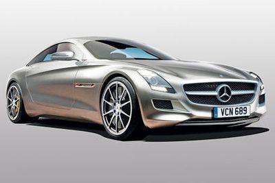 Mali Mercedes SLS