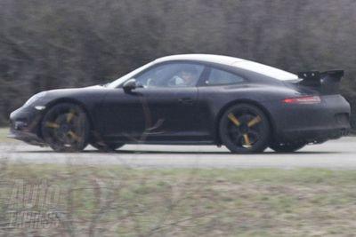 Prvi snimci modela Porsche 911 GT3