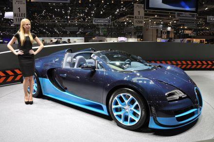 Ženeva: Bugatti Veyron Grand Sport Vitesse
