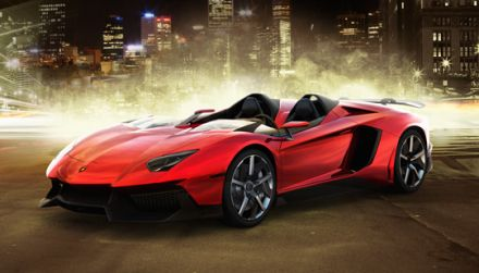 Ženeva: Lamborghini Aventador J