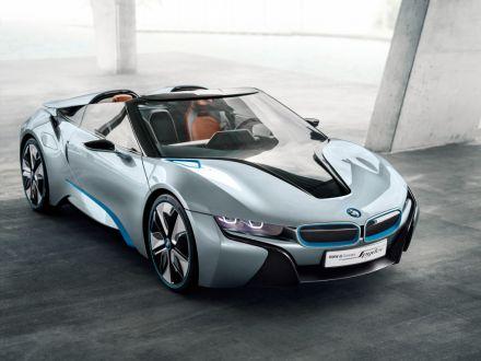 BMW i8 Spyder koncept