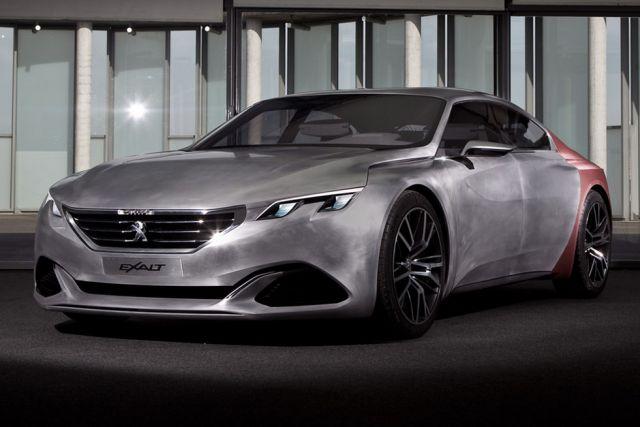 Pariz: Nova verzija Peugeot Exalt koncept vozila