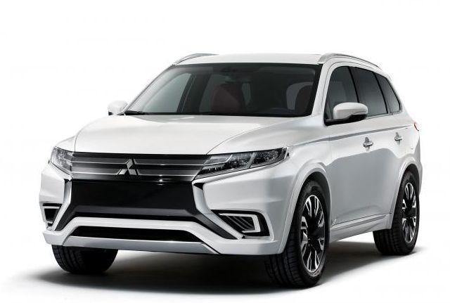 Pariz: Mitsubishi PHEV Concept-S