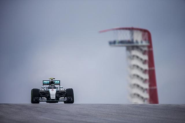 F1: Rozberg najbrži u prvom treningu za VN SAD, drugi trening otkazan
