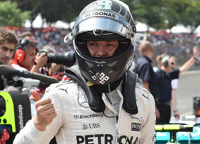 F1: Rozbergova peta pol pozicija u nizu