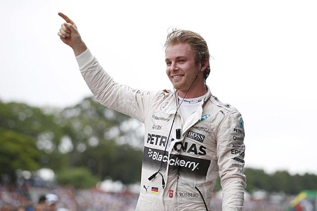 F1: Rozberg ubedljiv u Brazilu