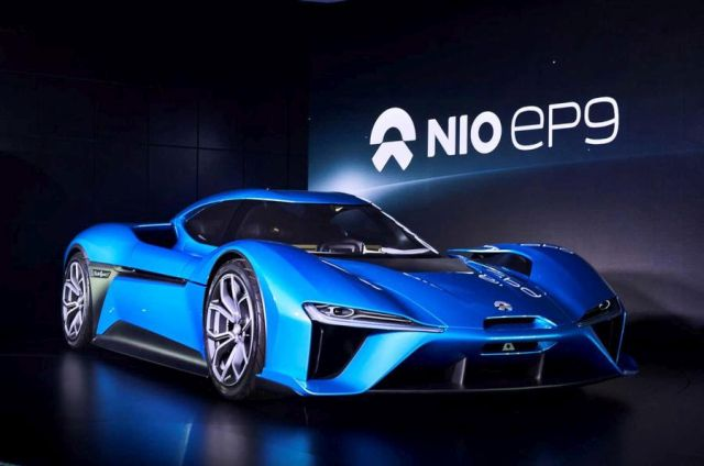 NextEV predstavio Nio EP9 (VIDEO)