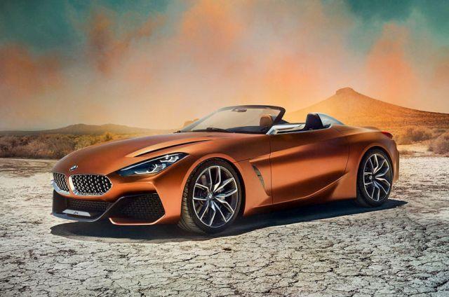 BMW predstavio konceptualni Z4