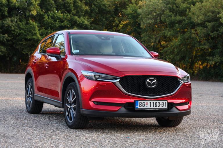 Prvi utisci: 2017 Mazda CX5 CD175