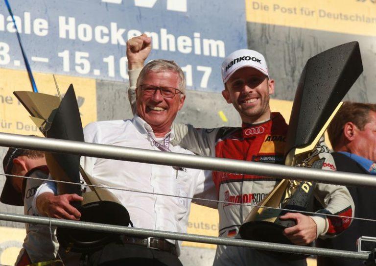 DTM: René Rast, tim Rosberg i Audi su šampioni za 2017