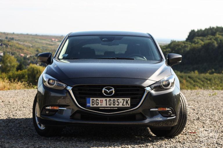 Prvi utisci Mazda 3 CD105