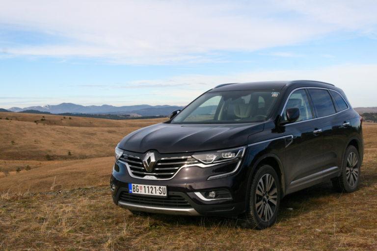 NK TEST: Renault Koleos dCi 175 4WD X-Tronic