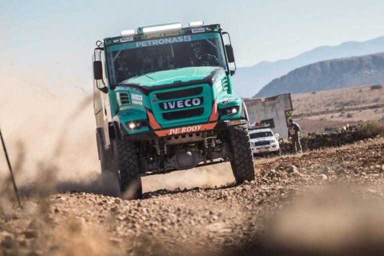 Goodyearovi pneumatici na pobedničkom kamionu eko-trke u Africi