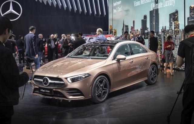 Peking: Mercedes prikazao limuzinsku A klasu