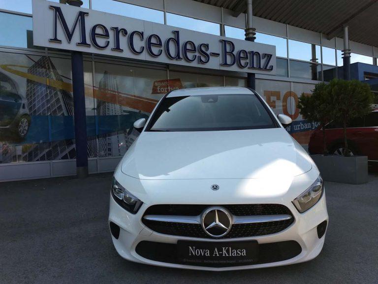 Mercedes A Class – uvodni trening