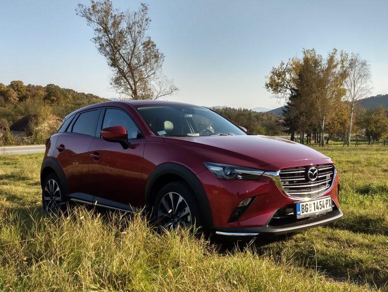 Prvi utisci: Mazda CX-3 G121