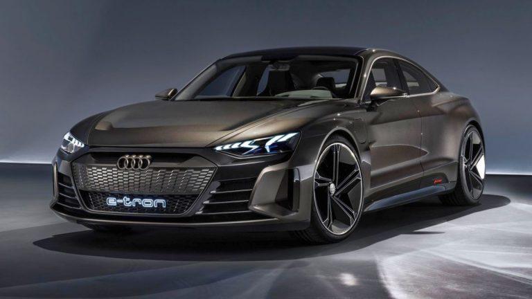 Los Anđeles: Audi e-tron GTE