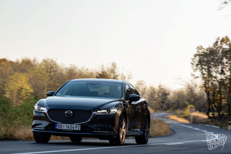 Prvi utisci: Mazda 6 CD184 AT