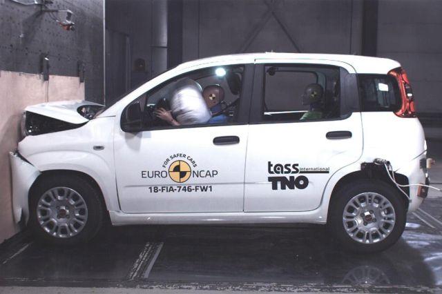 Fiat Panda pala na Euro NCAP testu