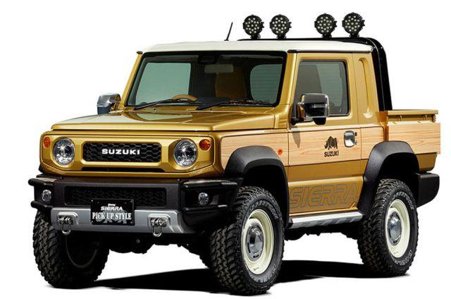 Suzuki Jimny Sierra i Survive koncepti