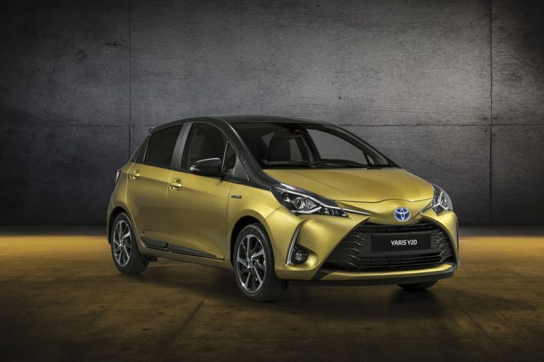 Toyota Yaris limited edition
