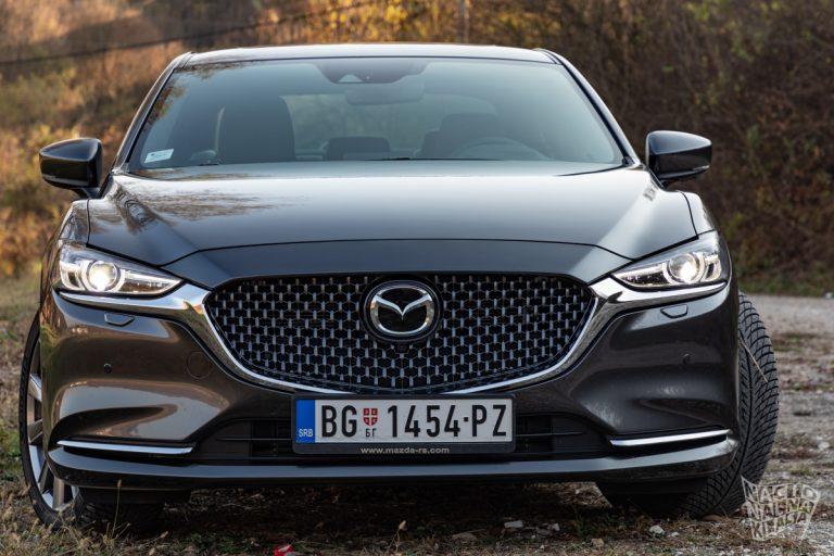 NK TEST: Mazda 6 CD184 – evolucijom do revolucije