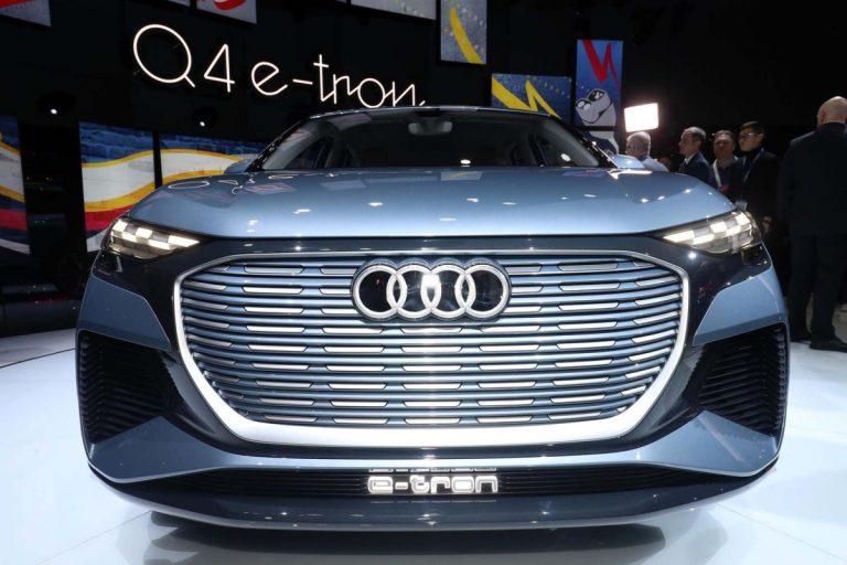 Ženeva: Audi Q4 e-tron koncept