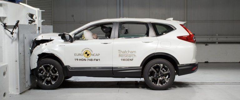 Euro NCAP: Pet zvezdica za novu Hondu CR-V