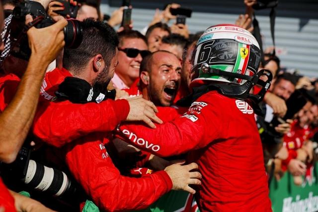 F1: Leklerk podario Ferariju pobedu na domaćoj trci