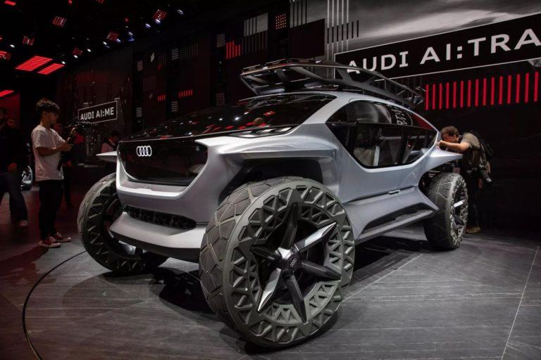Frankfurt: Audi AI:TRAIL koncept