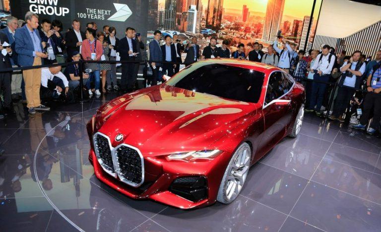 Frankfurt: BMW Concept 4 Series Coupe