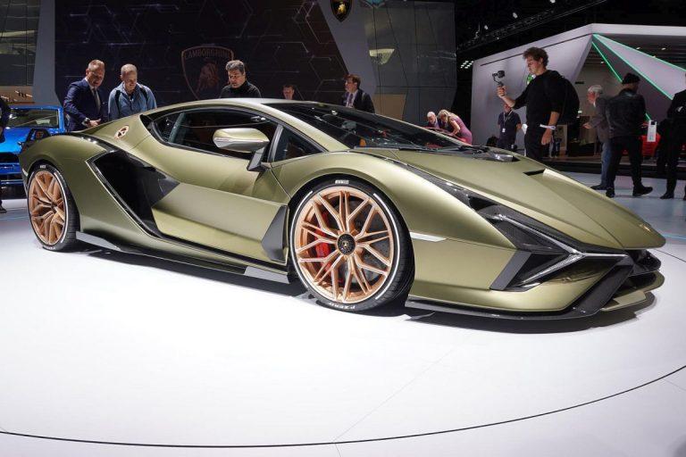 Frankfurt: Predstavljen hibridni Lamborghini Sian