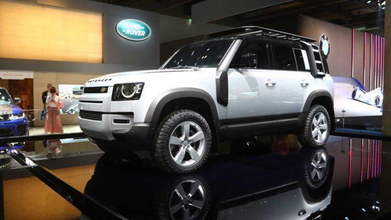 Frankfurt: Land Rover Defender