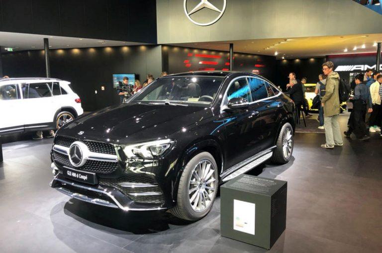 Frankfurt: Mercedes-Benz GLE kupe