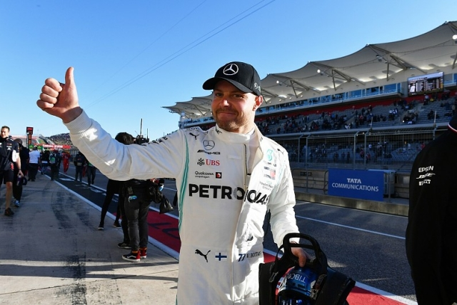 F1: Botas nastavlja niz Mercedesa na kvalifiakcijama za VN USA