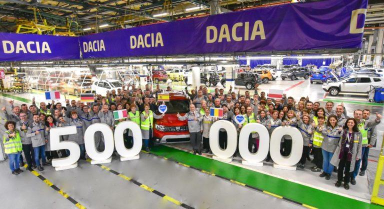Dačija proizvela preko pola miliona jedinica modela Duster