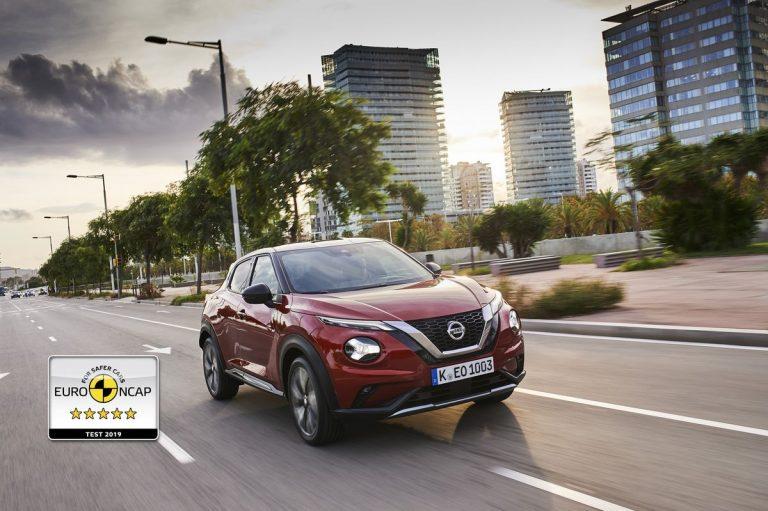 Euro NCAP: Pet zvezdica za novi Nissan JUKE